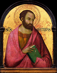 Picture of Saint Matthias apostle