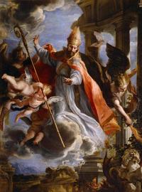 Retrato de San Agustín de Hipona