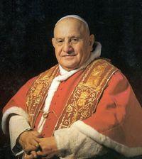 Retrato de San Juan XXIII papa