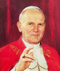 Picture of Saint Pope John Paul II
