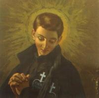 Retrato de San Gabriel de la Dolorosa