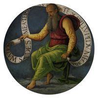 Retrato de San Isaías profeta
