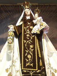 Retrato de Nuestra Señora del Carmen