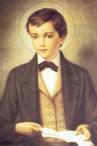 Retrato de Santo Domingo Savio