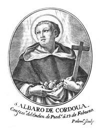 Retrato de Beato Álvaro de Córdoba