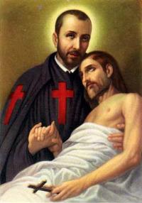 Retrato de San Camilo de Lelis