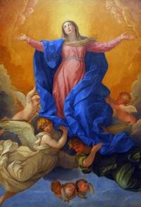 Retrato de Asunción de la Virgen María