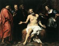 Retrato de Santo Job patriarca