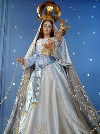 Picture of Our Lady of the Rosary
