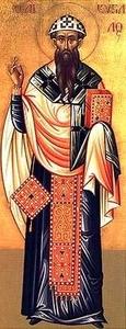 Retrato de San Cirilo de Alejandría